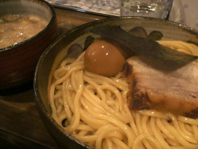 西新井 椿 つけ麺
