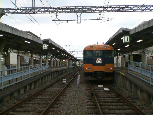 橿原神宮前駅乗り換え。